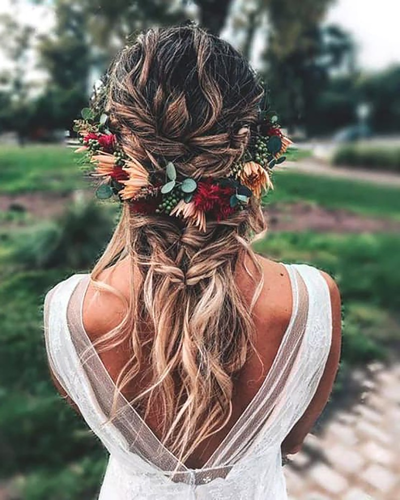 Hairstyles Braided Wedding Hairstyle Trends in 2019