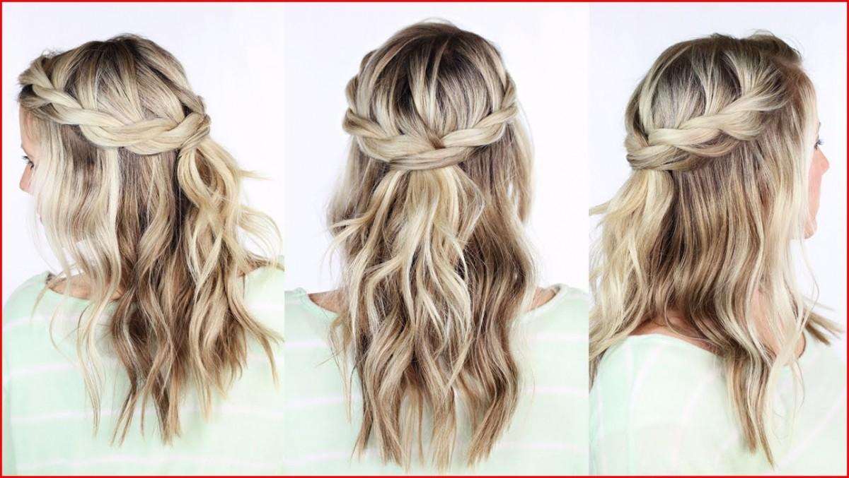 Surprising Easy Braid Crown Hair Tutorial Hairstyles Braided Schematic Wiring Diagrams Amerangerunnerswayorg