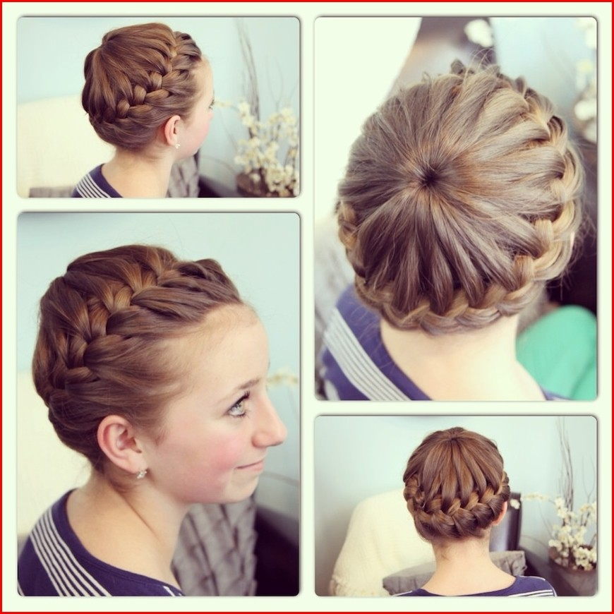 Remarkable Easy Braid Crown Hair Tutorial Hairstyles Braided Schematic Wiring Diagrams Amerangerunnerswayorg