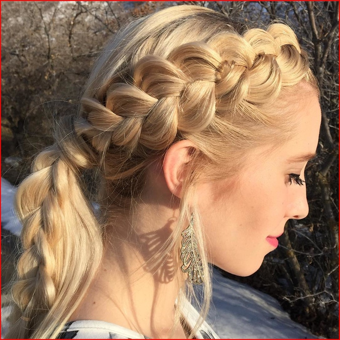 Fishtail braid hairstyles for short hair - Hairstyles Braided