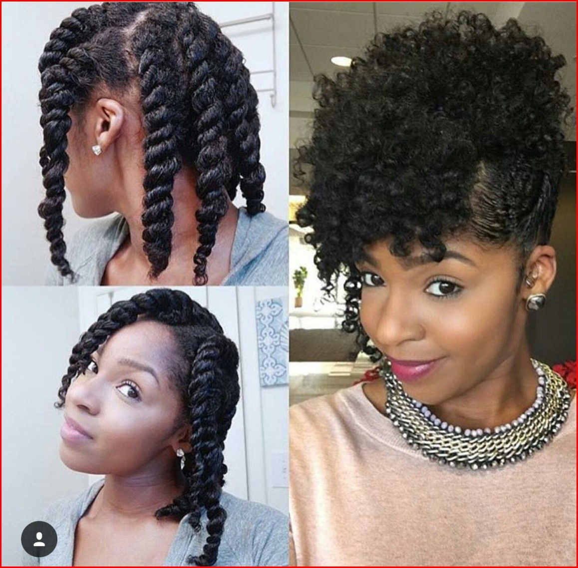 Hairstyles Braided Treatments for African American Natural Hairstyles