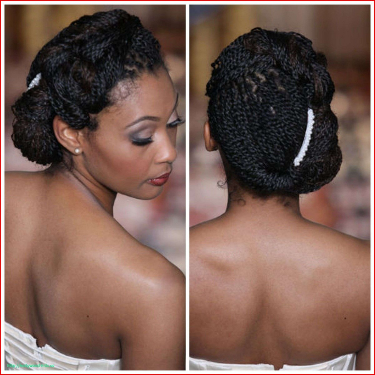 Twist braids hairstyles for weddings - Hairstyles Braided