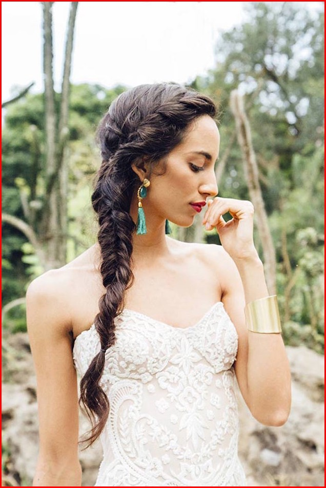 Hairstyles Braided Bridal Hairstyles: The Brides and Bridesmaid