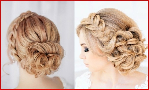Hairstyles Braided Faszinierende Brautfrisuren