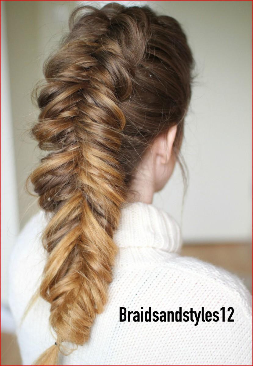 Hairstyles Braided FISCHSCHWANZ GEFLECHT / MEERJUNGFRAUEN-GEFLECHT STEP-BY-STEP ANLEITUNG