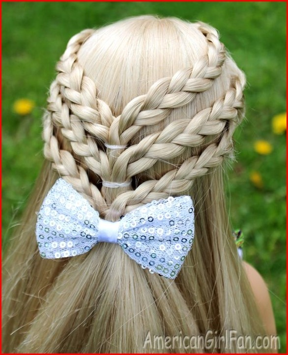 Hairstyles Braided American Girl Hairstyles Step by Step for More Adorable Look