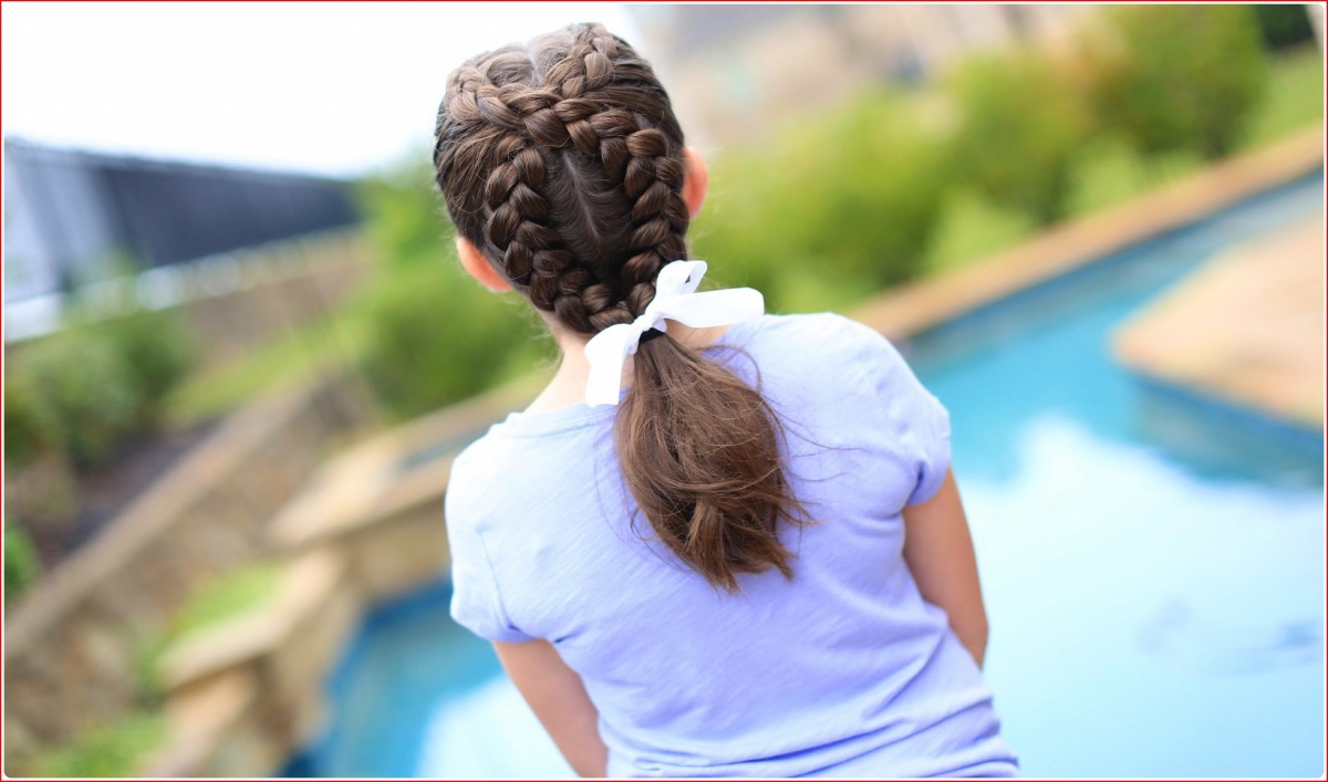 Hairstyles Braided Cute Accent in Cute Hairstyles for Girls
