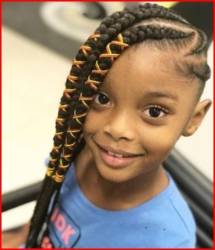 Cute Black Girl Hairstyles with Cute and Simple Creation