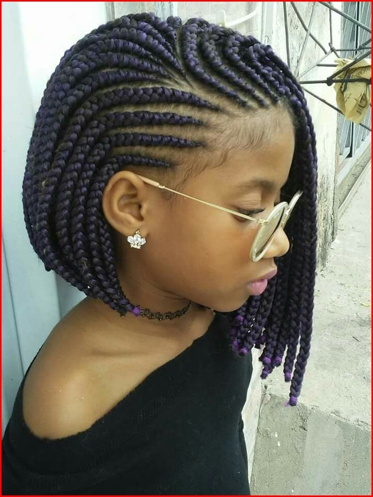 Cute Braided Hairstyles for Black Girls for Unique and ...
