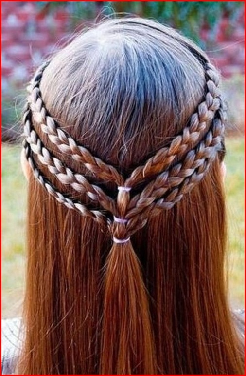 Hairstyles Braided Cute Easy Hairstyles for Girls for Short and Long Hair