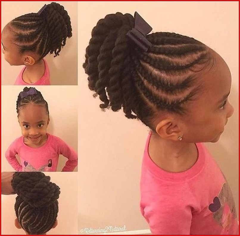 Cute Little Girl Hairstyles In Cute And Simple Concept