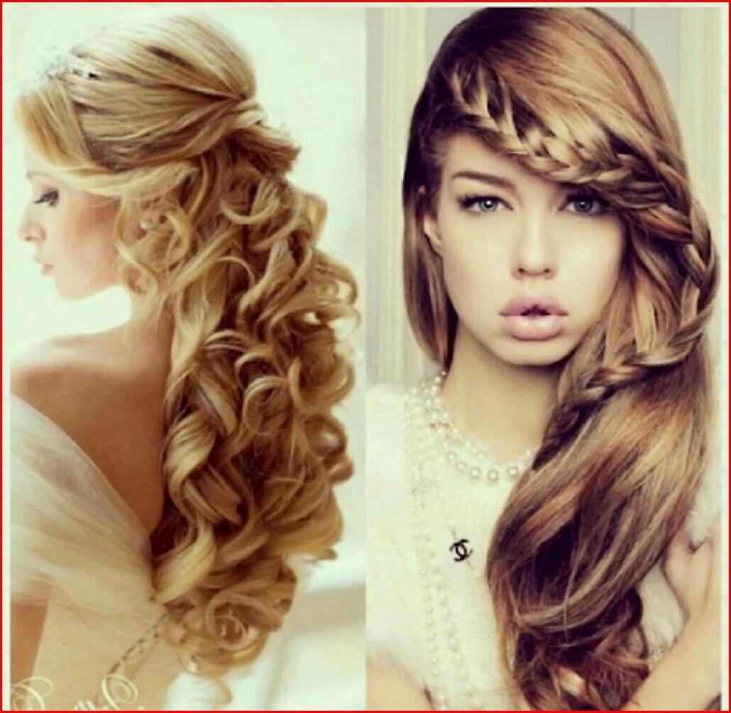 Hairstyles Braided Prom Hairstyles for Curly Hair