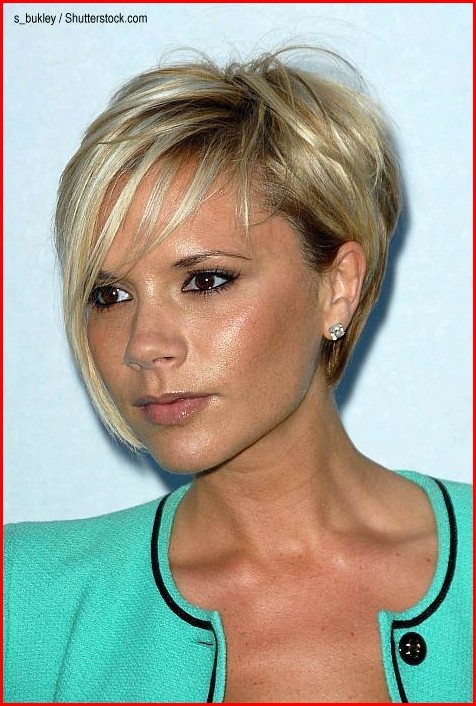 Hairstyles Braided Victoria Beckham's Latest Hairstyle