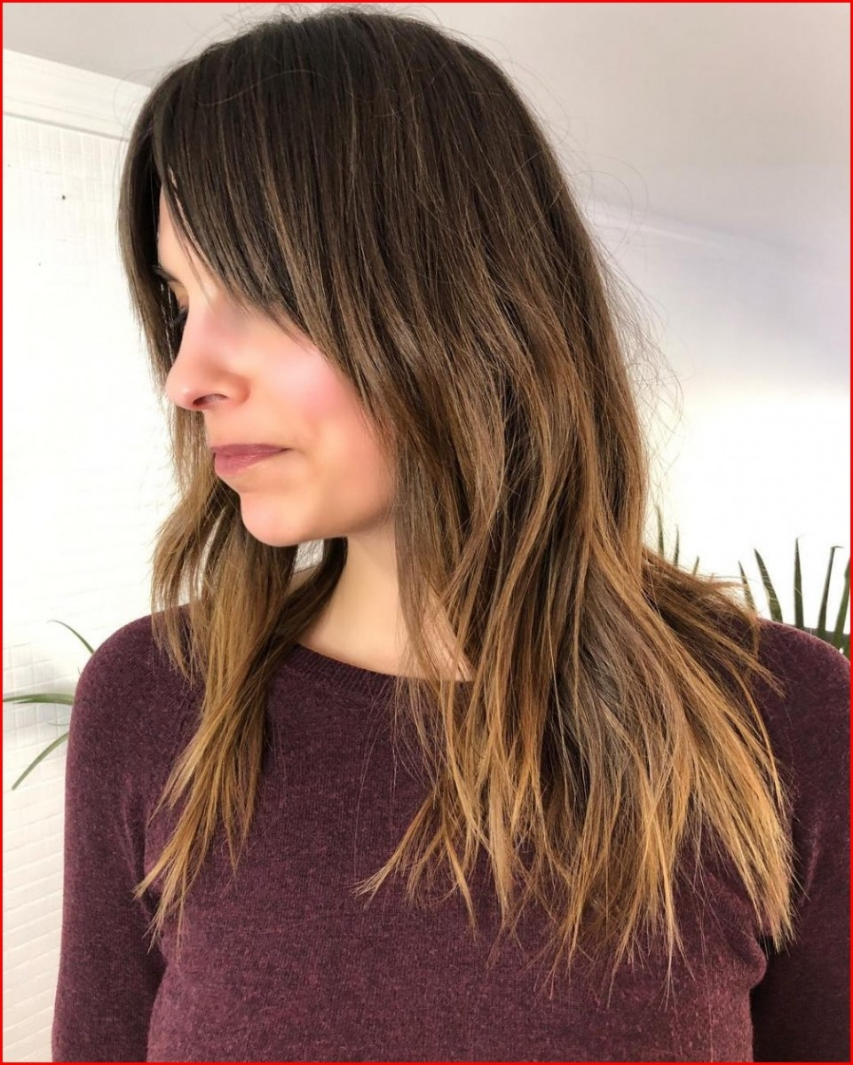 Hairstyles Braided Layered Haircuts for Long Hair with Bangs Bringing Live-Doll Appearance